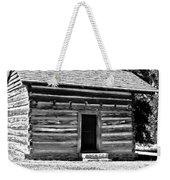 Civil War Cabin Weekender Tote Bag