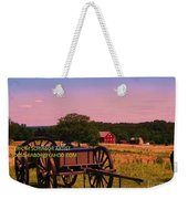 Civil War Caisson At Gettysburg Weekender Tote Bag