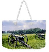 Civil War Cannons Weekender Tote Bag