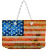 Civil War Flag Weekender Tote Bag