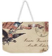 Civil War Letter 18 Weekender Tote Bag