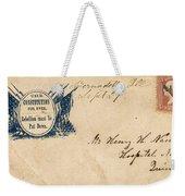 Civil War Letter 25 Weekender Tote Bag