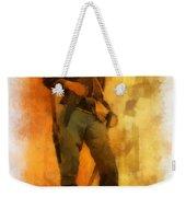 Civil War Soldier Photo Art Weekender Tote Bag