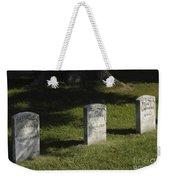 Civil War Unknown Dead Weekender Tote Bag