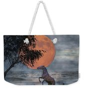 Claiming The Moon Weekender Tote Bag by Betsy Knapp