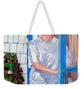 Claire Campbell Lewis Weekender Tote Bag