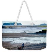 Clam Digger With Wagon Weekender Tote Bag