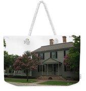 Clapboard House Colonial Williamsburg Weekender Tote Bag