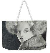 Clara Bow Weekender Tote Bag