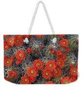 Claret Cup Cactus Flowers Detail Weekender Tote Bag