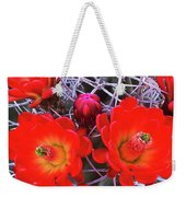 Claretcup Cactus Blooms Weekender Tote Bag