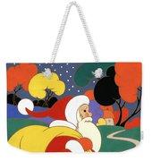 Clarice Cliff Santa Weekender Tote Bag