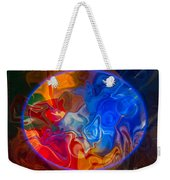 Clarity In The Midst Of Confusion Abstract Healing Art Weekender Tote Bag