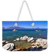 Clarity - Lake Tahoe Weekender Tote Bag