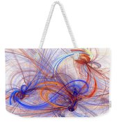 Clash Of Fire And Ice Weekender Tote Bag