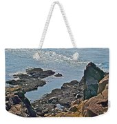 Clashing Tides At Tip Of Cape D'or-ns Weekender Tote Bag