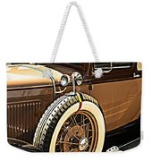 Classic 1928 Ford Model A Sport Coupe Convertible Automobile Car Weekender Tote Bag