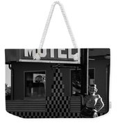 Classic 50s Motel Cafe Weekender Tote Bag