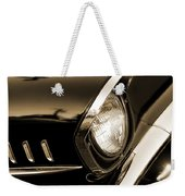 Classic '57 Chevy Bel Air In Sepia  Weekender Tote Bag