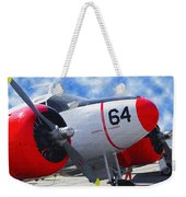 Classic Aircraft Weekender Tote Bag