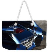 Classic Black Cadillac Weekender Tote Bag