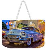 Classic Blue Caddy At Night Weekender Tote Bag