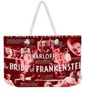 Classic Bride Of Frankenstein Poster Weekender Tote Bag