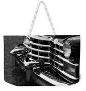 Classic Cadillac Sedan Black And White Weekender Tote Bag