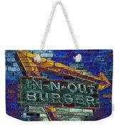 Classic Cali Burger 2.2 Weekender Tote Bag