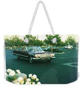 Classic Car Family Outing Weekender Tote Bag