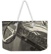 Classic Car Interior Weekender Tote Bag