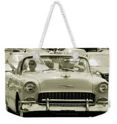 Classic Car Weekender Tote Bag