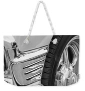 Classic Car Reflections - Training Wheels -179bw Weekender Tote Bag