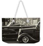 Classic Car Show Weekender Tote Bag