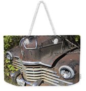 Classic Car With Rust Weekender Tote Bag