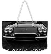 Classic Cars Front Cover Weekender Tote Bag