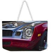 Classic Chevrolet Camaro Weekender Tote Bag
