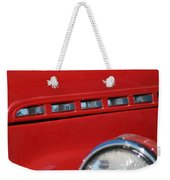 Classic Chevy Design Weekender Tote Bag