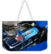 Classic Chevy Power Plant Weekender Tote Bag