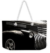 Classic Chevy Truck Weekender Tote Bag by Optical Playground By MP Ray