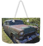 Classic Chevy With Rust Weekender Tote Bag