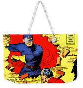 Classic Comic Book Cover - Mystery Men Comics - 1200 Weekender Tote Bag by Wingsdomain Art and Photography