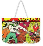 Classic Comic Book Cover - Startling Comics The Fighting Yank - 1236 Weekender Tote Bag by Wingsdomain Art and Photography
