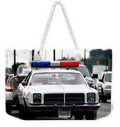 Classic Cop Car Weekender Tote Bag