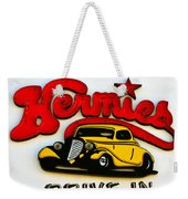Classic Drive In Sign Weekender Tote Bag