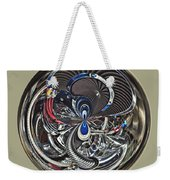 Classic Engine Orb Abstract Weekender Tote Bag