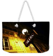 Classic French Metro Light Weekender Tote Bag