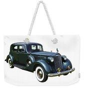 Classic Green Packard Luxury Automobile Weekender Tote Bag