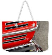 Classic Impala In Red Weekender Tote Bag