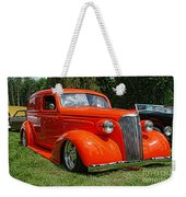 Classic Orange Weekender Tote Bag